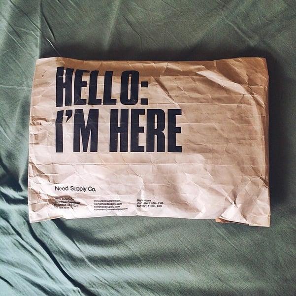 creative shipping bags